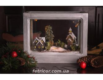 """Флорариум """"Рождественская сказка"""""""